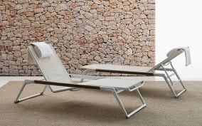 Patio Furniture Metal Mesh - contemporary sun lounger mesh metal outdoor mirto outdoor