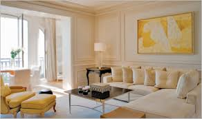 cream colored living rooms modern elegant design of the yellow painting outside walls ideas