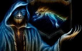 edit wallpaper with resolution 1400x1050 blue wizard colorful