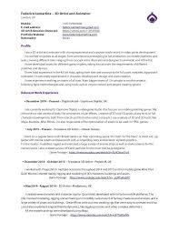 3d Artist Resume Sample Artist Resume Sample Writing Guide Resume Genius