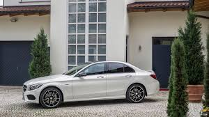 mercedes wallpaper white 2016 mercedes benz c450 amg 4matic diamond white side hd