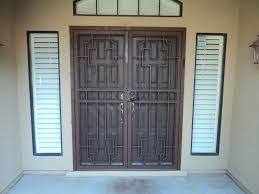 Residential Security Doors Exterior Gate And Fence Decorative Security Screen Doors Front Door