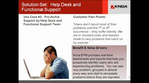 solutions it service desk and support user experience management
