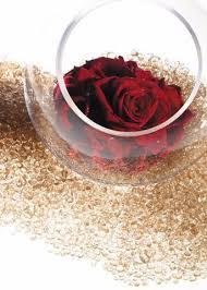 Pink Vase Fillers Gold Glitter Glass Vase Filler Glitter Wedding Afloral Com