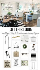 Kitchen And Table Get This Look The Fixer Upper Chip 2 0 Kitchen And Dining Spaces