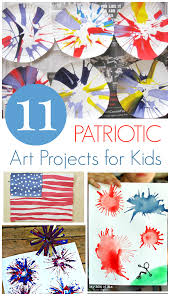 11 fun patriotic art projects for kids craft holidays and