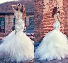 bridal dress stores galia lahav wedding dresses 2016 mermaid crew neck sheer