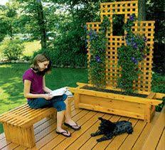 Deck Garden Ideas 54 Best Deck With Garden Ideas Images On Pinterest Backyard