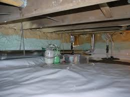 crawl space vapor barrier and ecapsulation