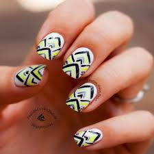 simple tribal nail designs