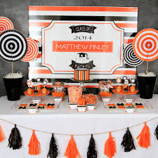 Party Table Decorations by Graduation Party Ideas 2014 Sweet Table Decorations