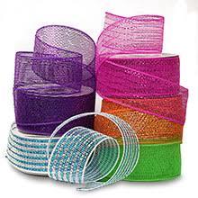 deco mesh ribbon mesh roll deco poly mesh paper mart bargains
