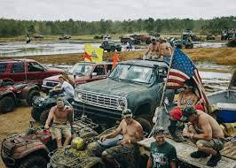 muddy truck stunning pics reveal the u0027lawless u0027 and very muddy redneck yacht