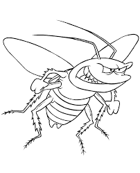 insect colouring 9 topcoloringpages net free coloring pages