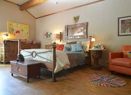 furniture antique furniture with cork flooring and colorful rug