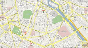 Metro Paris Map by Map Of Paris France Streets New Zone