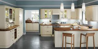 new cream kitchen cabinets with stainless steel appliances taste