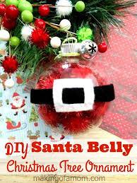 santa ornaments can make letters from santa blogletters