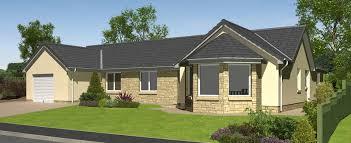 house design images uk hartfell homes eskdale bungalow new build elegant unique design