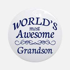 grandson ornament cafepress