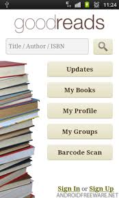 goodreads free android app android freeware