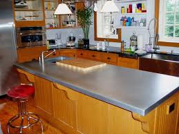 zinc countertop on a traditional kitchen island zinc countertops