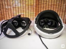 playstation vr vs oculus rift virtually comparable vrheads