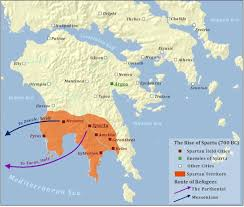 Delphi Greece Map by Maps Sparta U0027s Development Cities And Civilizations