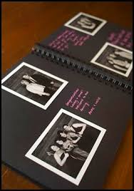 wedding guest book photo album would be in to sign a blank book book with lines