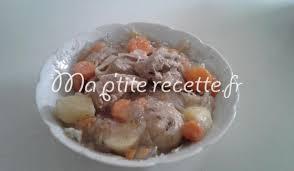 cuisiner une blanquette de veau blanquette de veau 2 recette plat veau