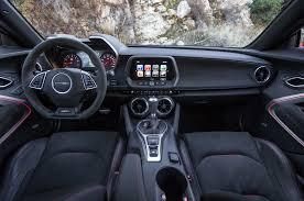 chevrolet camaro details 2018 chevy camaro zl1 interior detail view autosduty