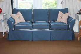 Slipcovered Sofas Clearance by The Best Blue Slipcover Sofas