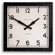 quad wall clock black newgate clocks horne