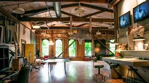 Office Loft Ideas Downtown Office Space Industrial Lofts Pinterest Industrial