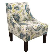 Aqua Accent Chair Accent Chairs In Living Color Room Refresh Hayneedle