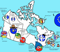 Canada Map Game by The Canadian Provinces And Territories Polandball