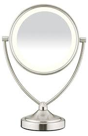conair lighted vanity mirror amazon com conair natural daylight double sided lighted makeup