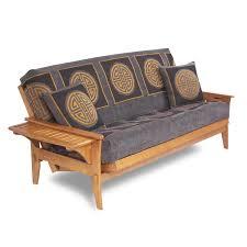 Wooden Futon Sofa Beds White Futon Frame Charleston White Futon Frame 1800easybedcom