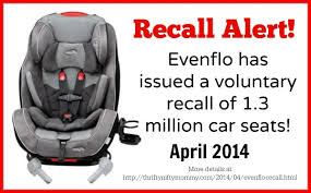 Evenflo High Chair Recall Evenflo Car Seat Recall Affecting Over 1 Million Car Seats