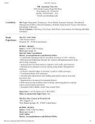 Resume Temporary Jobs by Usa Jobs Resume 14912