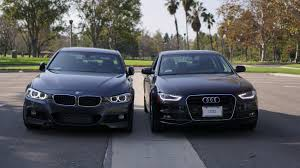 bmw 328i xdrive vs audi a4 quattro bmw f30 328i vs audi a4