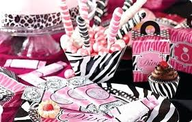 leopard print party supplies hot pink animal print party supplies mouse and zebra birthday