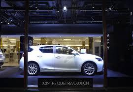 lexus luxury hatchback join the quiet revolution with lexus and harrods autoevolution