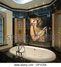 British Bathroom Bathroom In Art Deco Style Recently Restored 1930s British