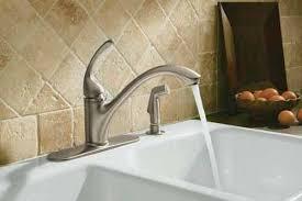 kohler forte pull out kitchen faucet glamorous kitchen kohler k 10412 cp forte single sink faucet