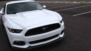 ford mustang scoops 2015 ford mustang gt premium roush side scoops installed