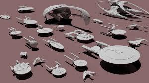 comparing the sizes of star trek starships