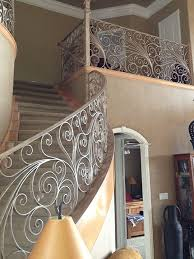 Wrought Iron Banister Custom Wrought Iron Railings 2017 Amador Iron Works