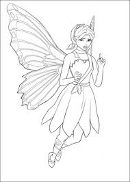 fairy princess coloring pages kids information