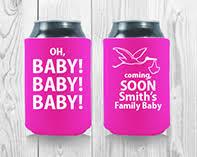 baby shower koozies baby shower koozies personalized koozies